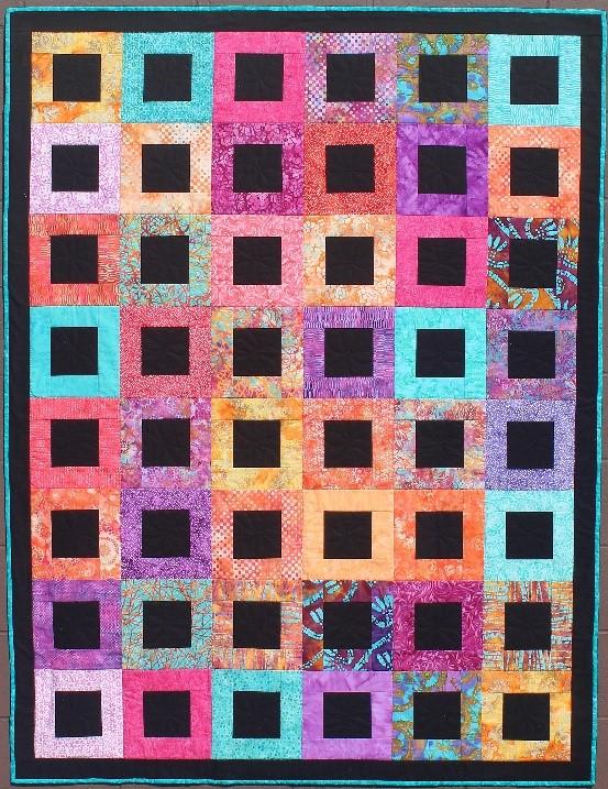 Joie de Vivre Quilt Pattern
