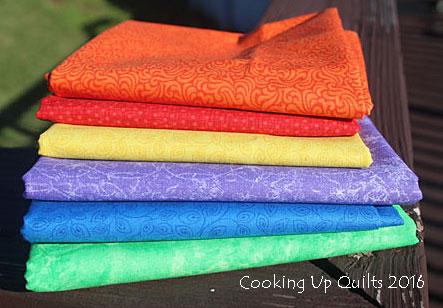 Rainbow Fabric Love
