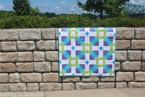 Floating Quilt Pattern Baby Quilt