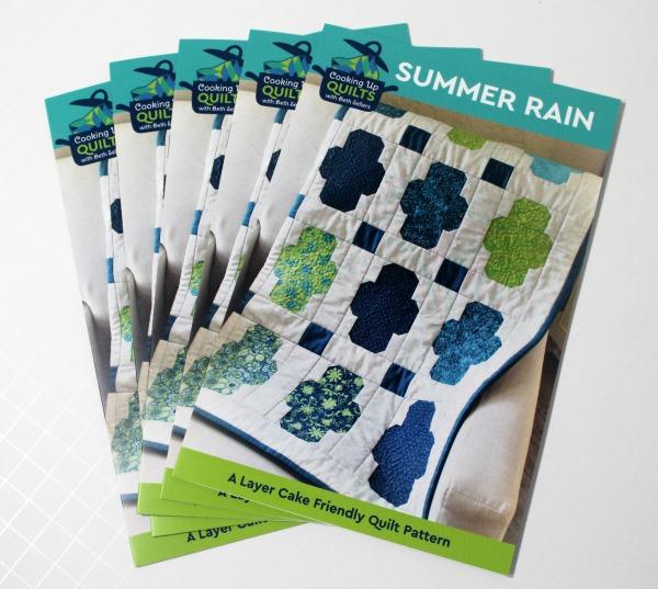 Summer Rain Print Patterns