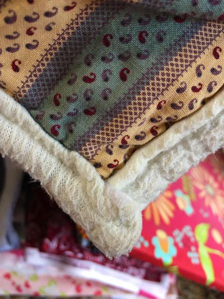Worn Quilt Binding