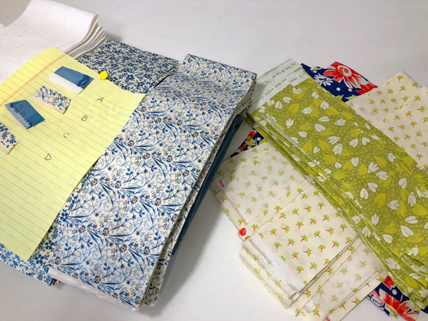 Fabric Prep - Two Projects