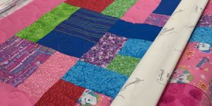 Friday Finish: A Cute Baby Quilt
