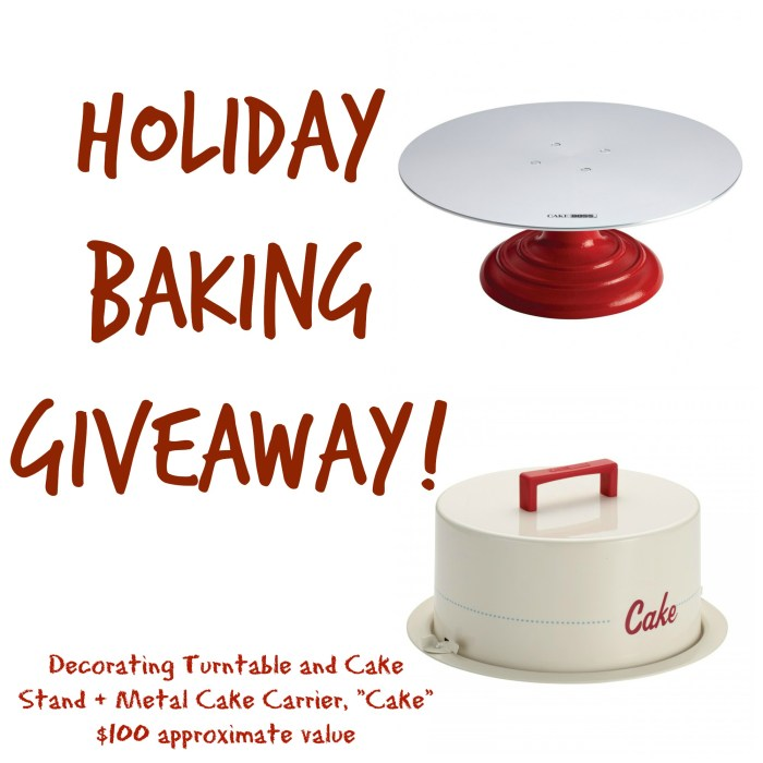 Take a trip to Carlos Bakery in Las Vegas, get my recipe for Dominican Cake, and enter to win a Holiday Baking Giveaway on Cooking with Books!