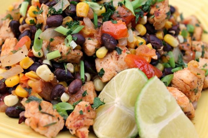 Southwestern Chicken Dinner Recipe