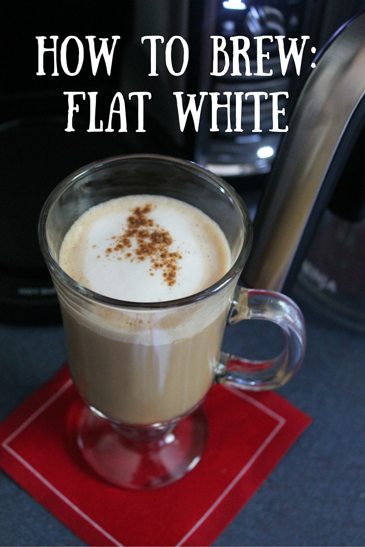 How to brew a Flat White, the perfect coffee beverage!