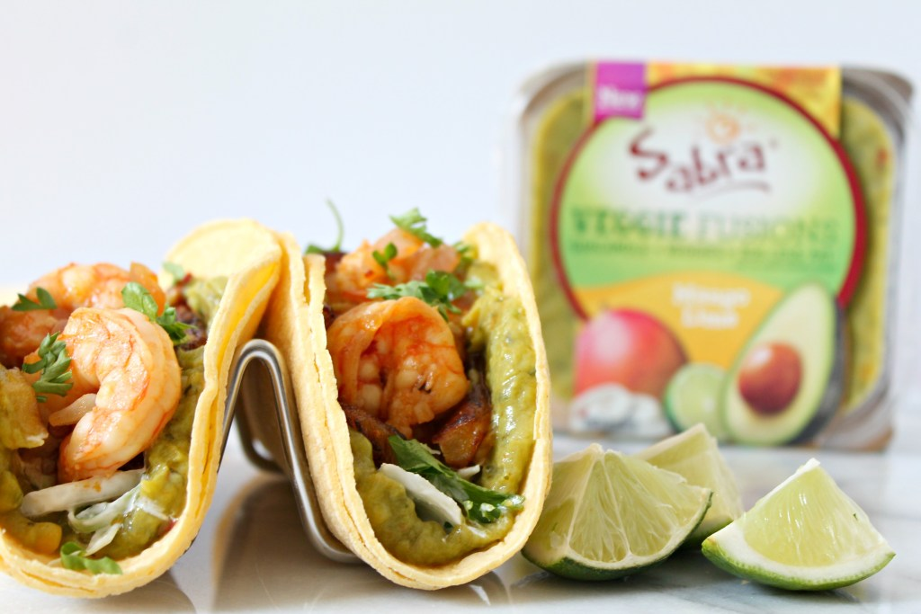 Sweet Plantain & Shrimp Tacos
