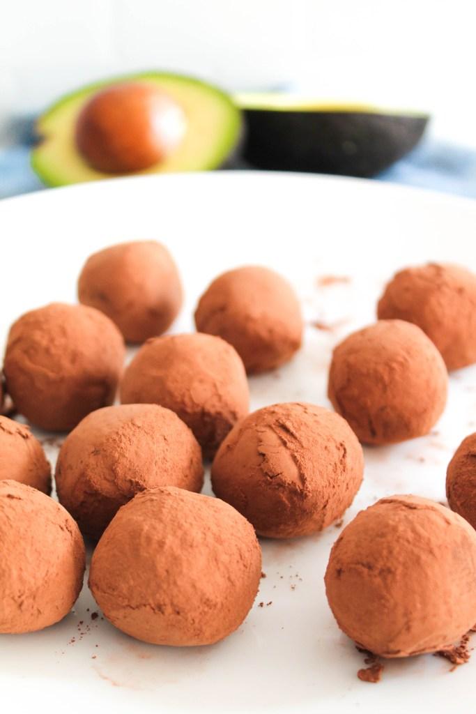 Avocado Fudge Truffles-1