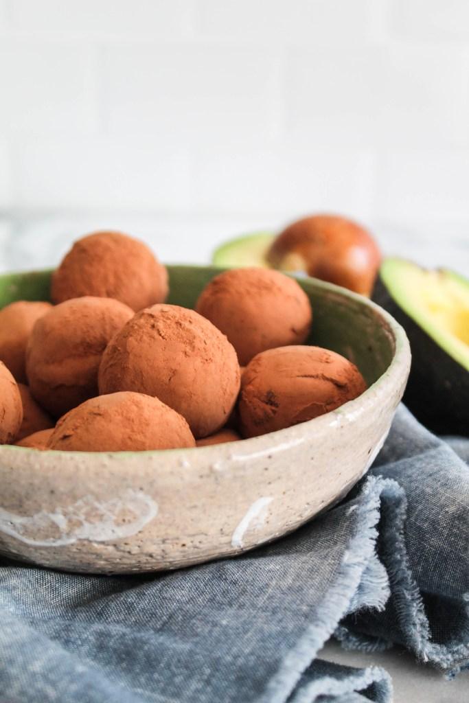 Avocado Fudge Truffles-6