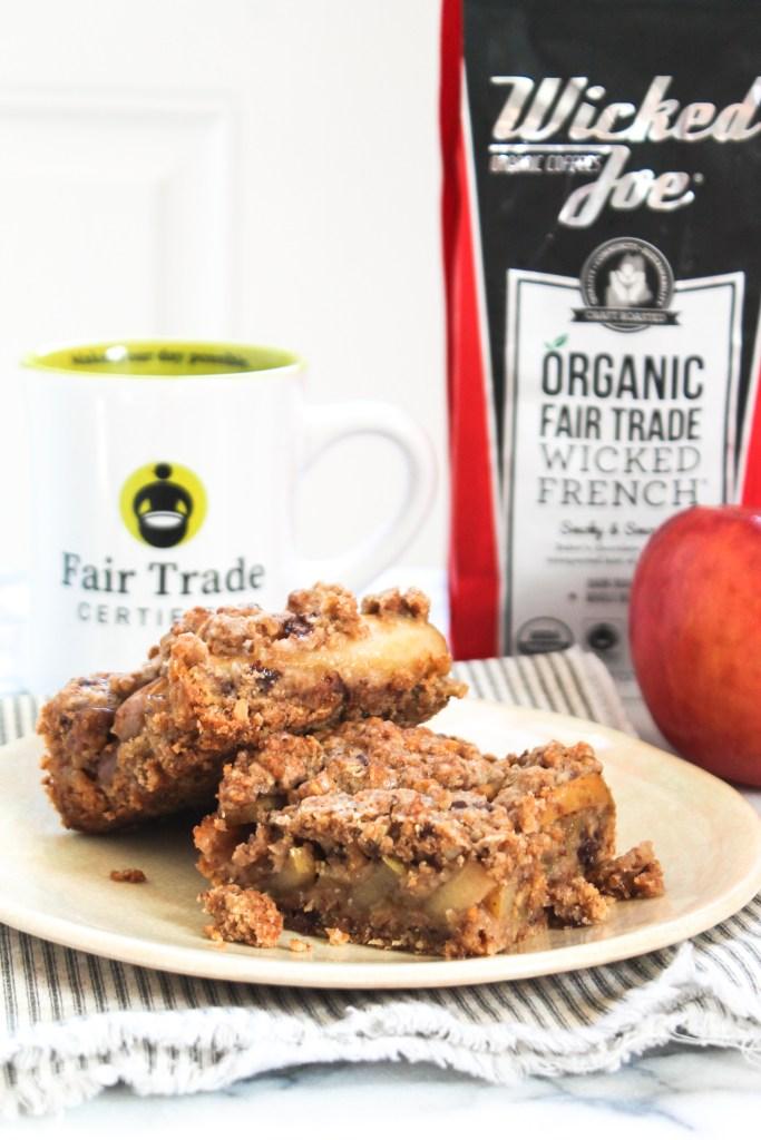 Apple Coffee Streusel Bars recipe