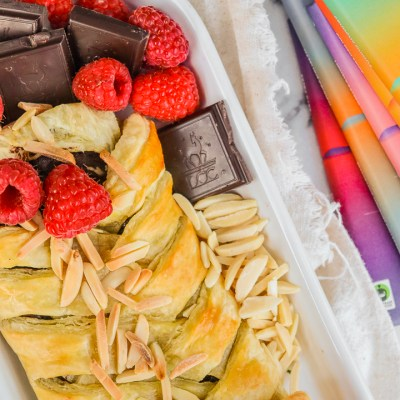 Chocolate Raspberry Almond Pastry