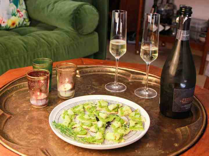 Artichoke and Olive Canapés – delicious little vegan morsels for easy entertaining