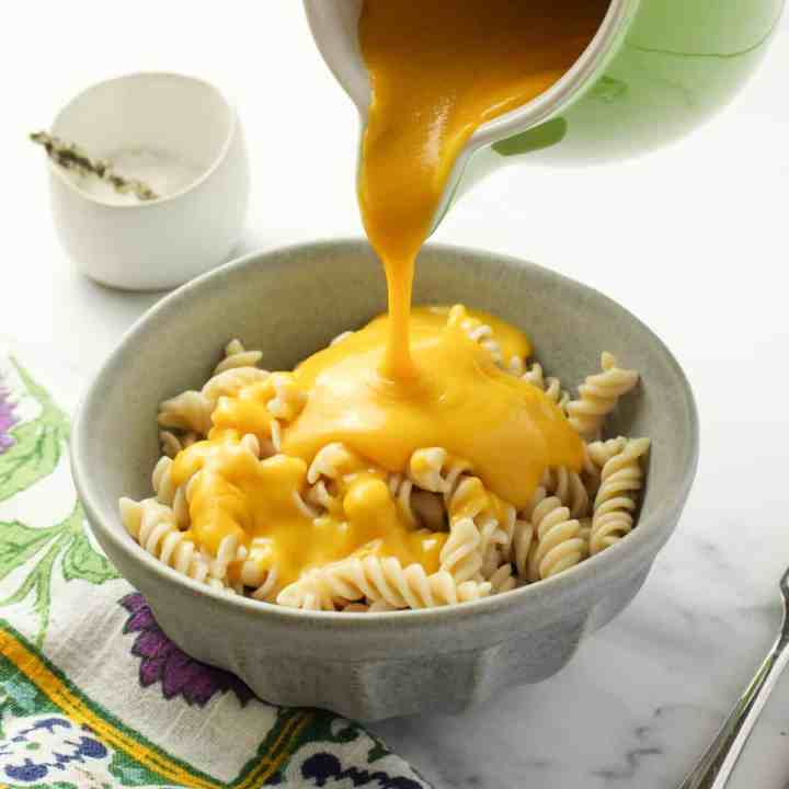 Healthy Vegan Cheese Sauce (Gluten-Free | Nut-Free | Soy-Free)