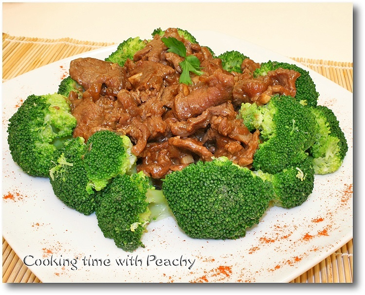 Beef broccoli chinese american style beef broccoli recipe forumfinder Images