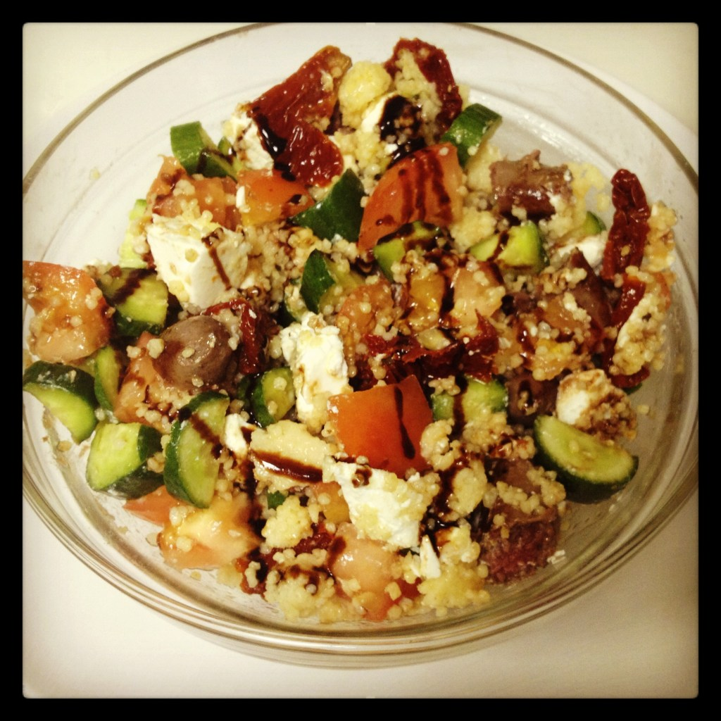 Oriental Salad with Millet Seeds