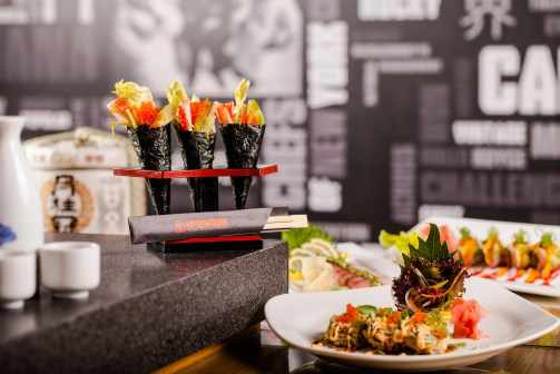 Sushi (Brunch at Amwaj Rotana)