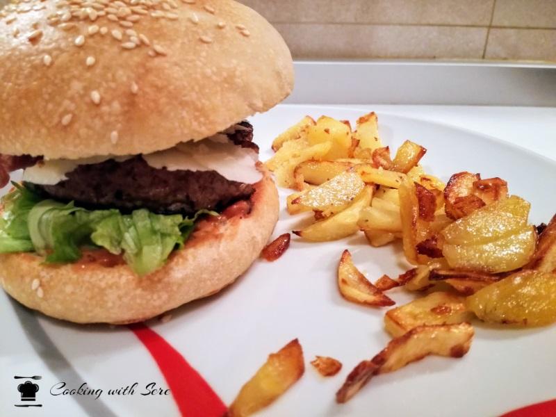 panino per hamburger fatto in casa