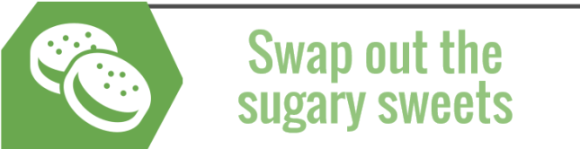 Swap out sweets