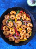 Shrimp Fajita Skillet Recipe