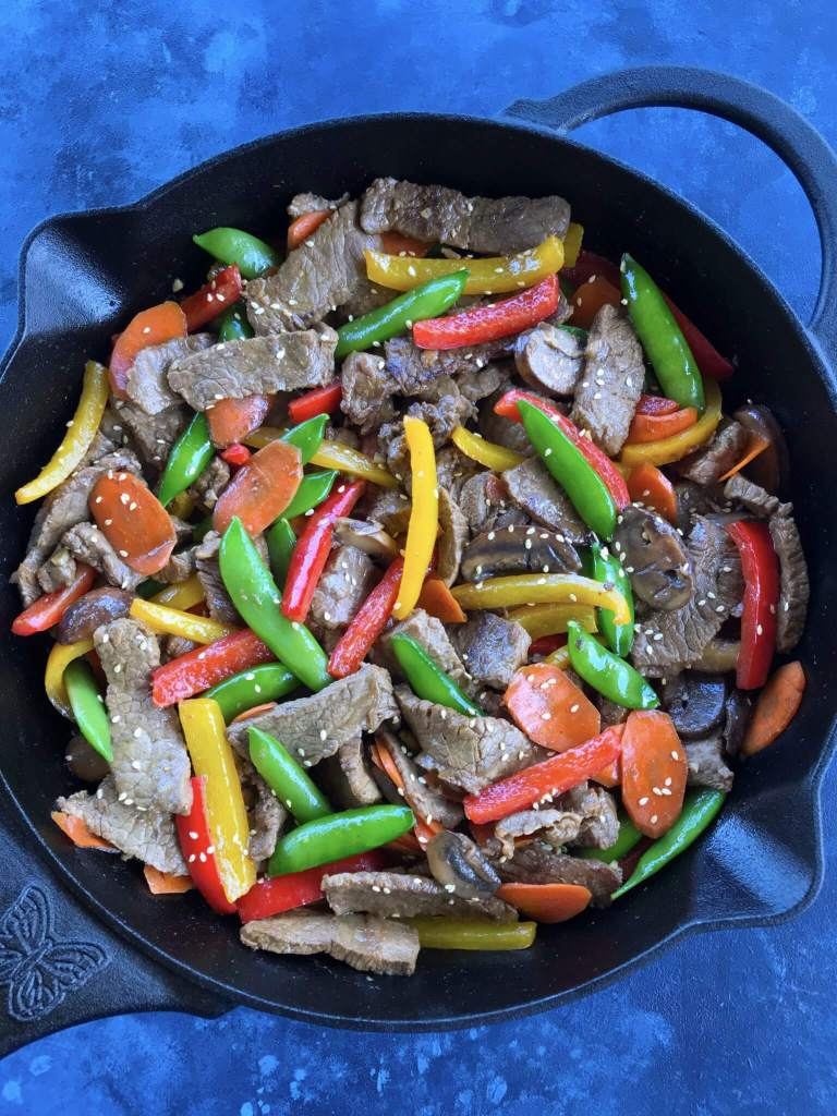 Asian Pepper Steak Stir Fry
