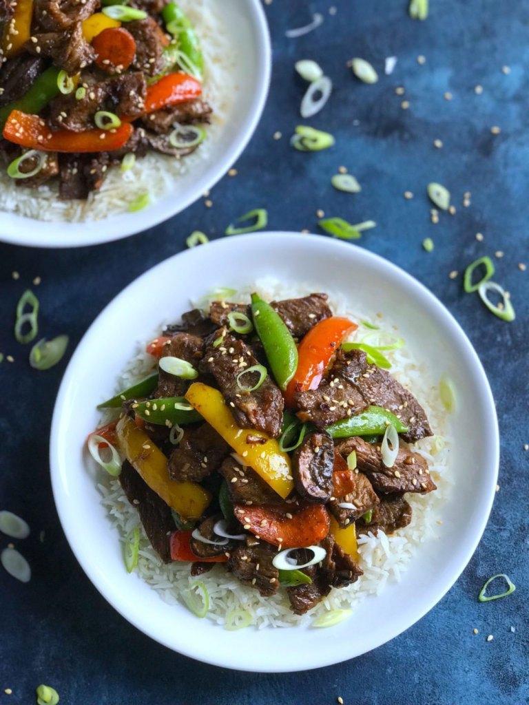 Asian Pepper Steak Stir Fry
