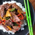 Pineapple Pepper Steak