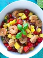 Pineapple Shrimp Salad