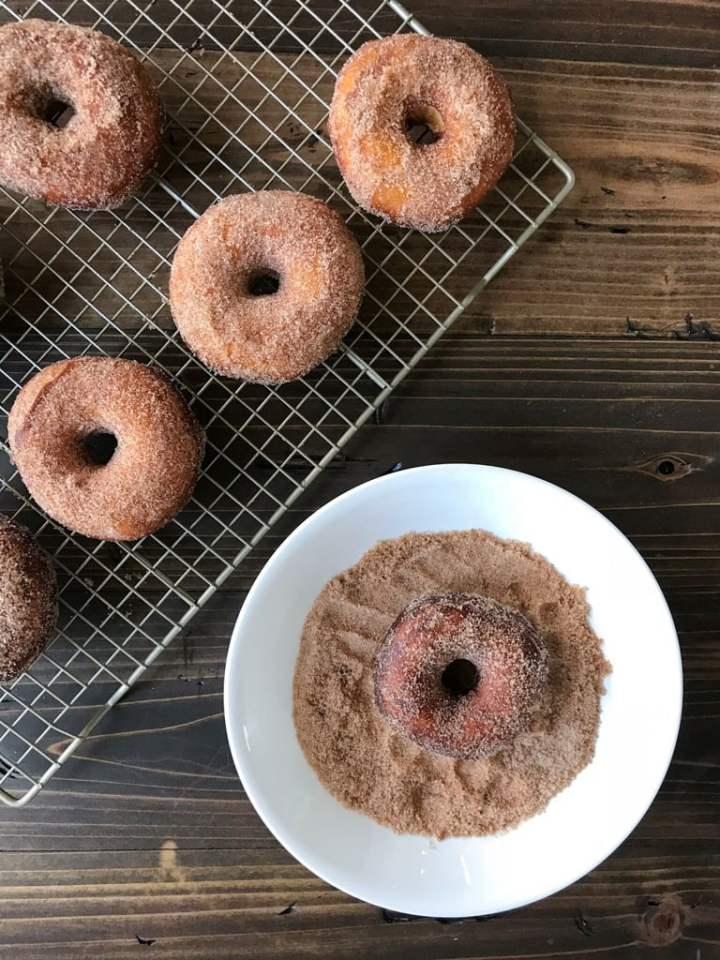 Easy Cinnamon Sugar Donut-2-4