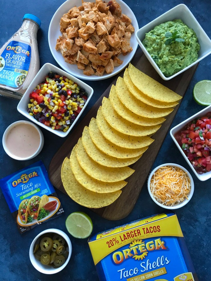 Southwest Chicken Tacos