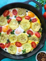 Squash and Eggs Brunch recipe