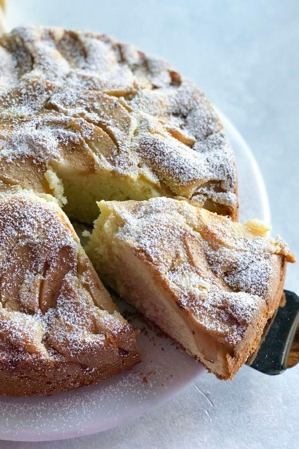 Super Moist Pear Cake