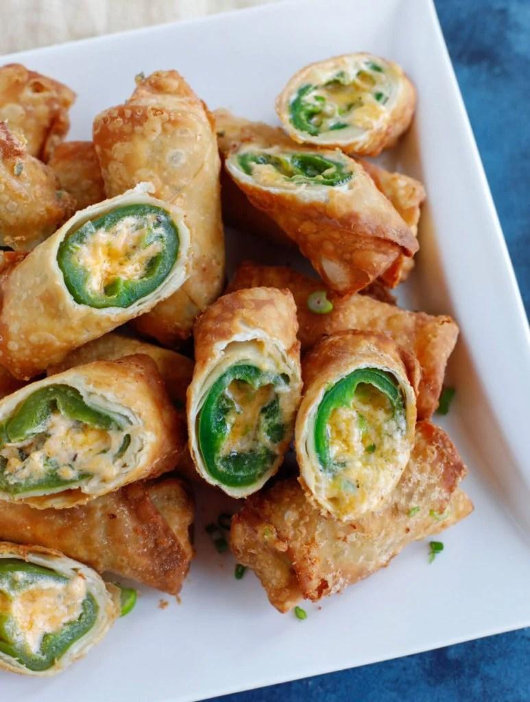 Jalapeño Popper Egg Rolls