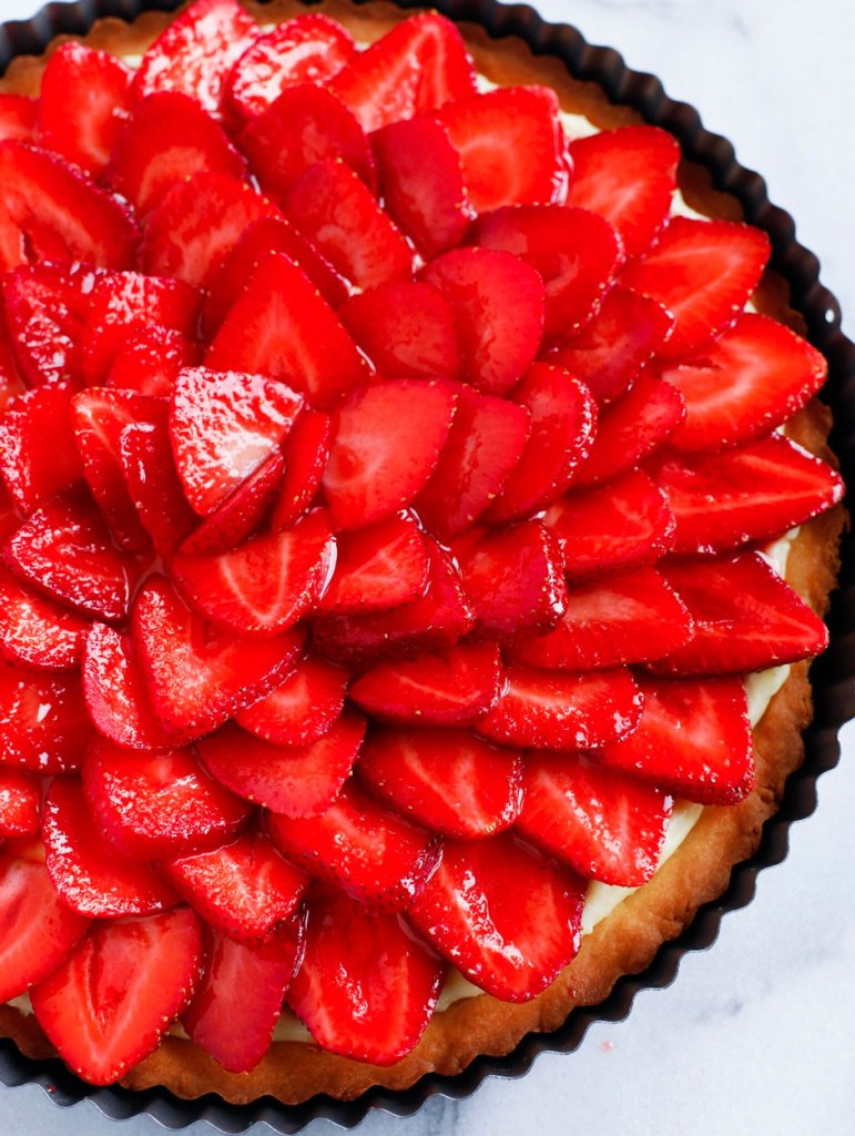 Strawberry French Tarte