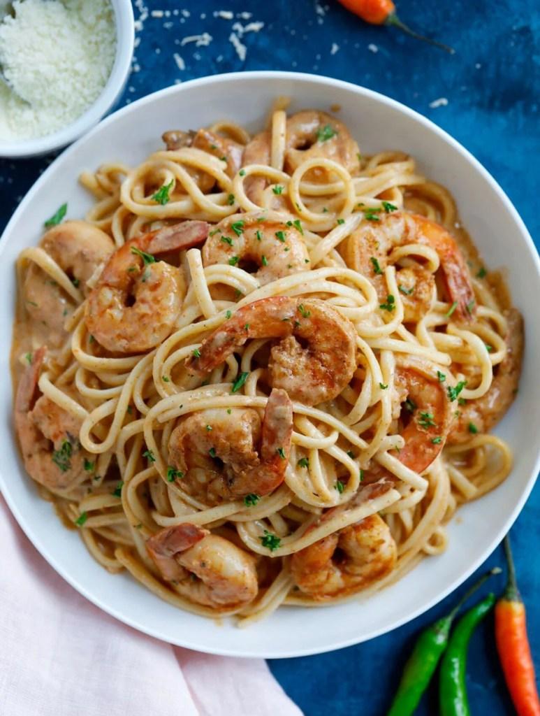 Creamy Shrimp Cajun Pasta