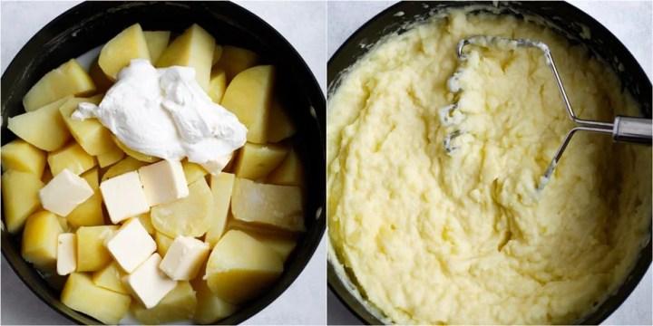 homemade mashed potatoes