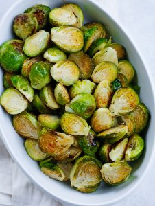 Oven Baked Brussel Sprouts recipe