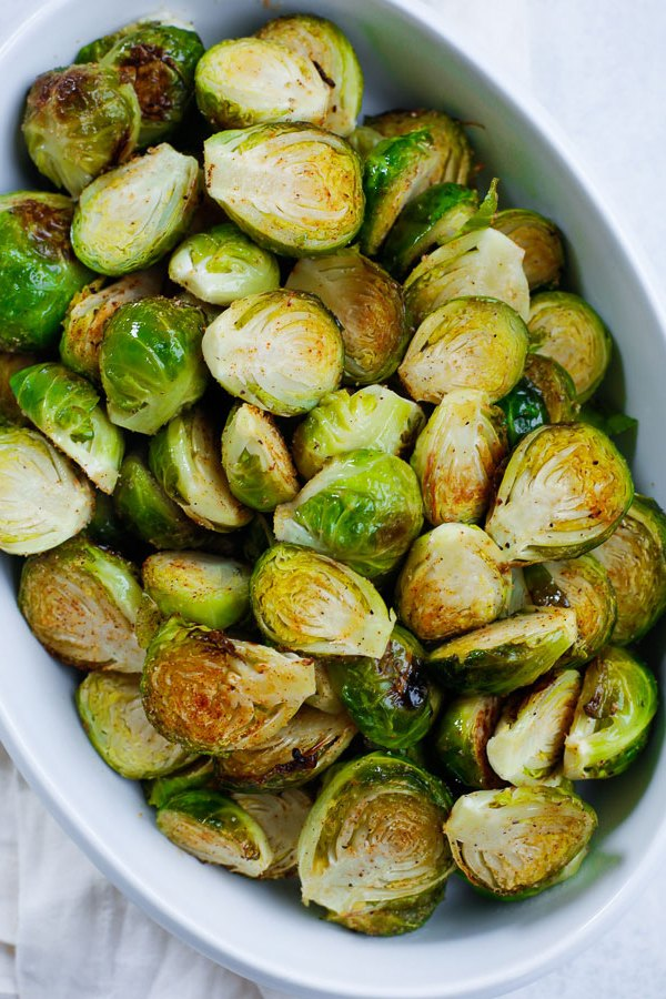 oven baked brussel sprouts