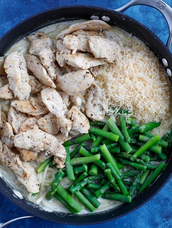 alfredo pasta with chicken