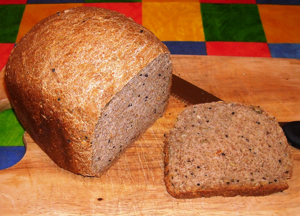 Seeded Wholemeal Bread British Recipe