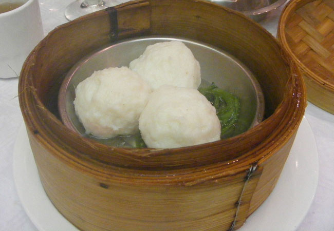 Steamed Prawn Balls Chinese Recipe