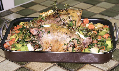 Roast pheasant cooking temperature and times
