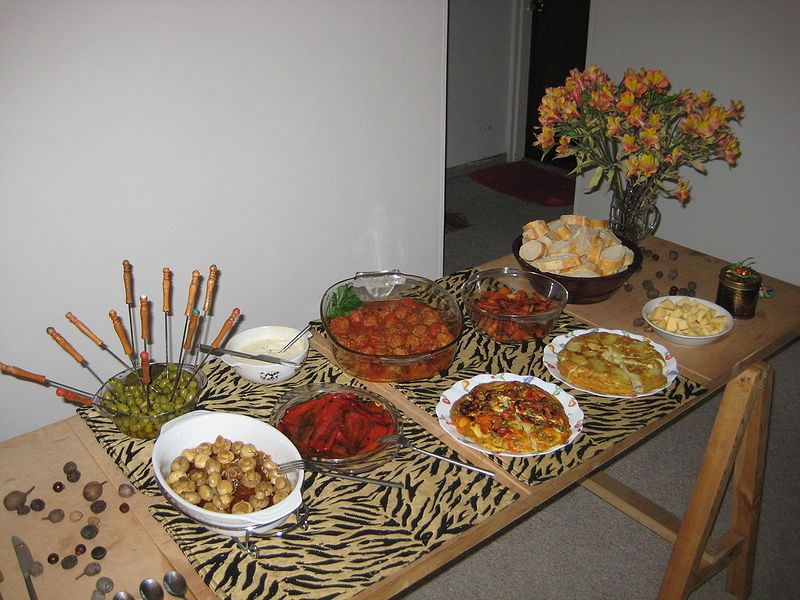 Tapas Mezze And Antipasti A Cookipedia Wiki Category Page
