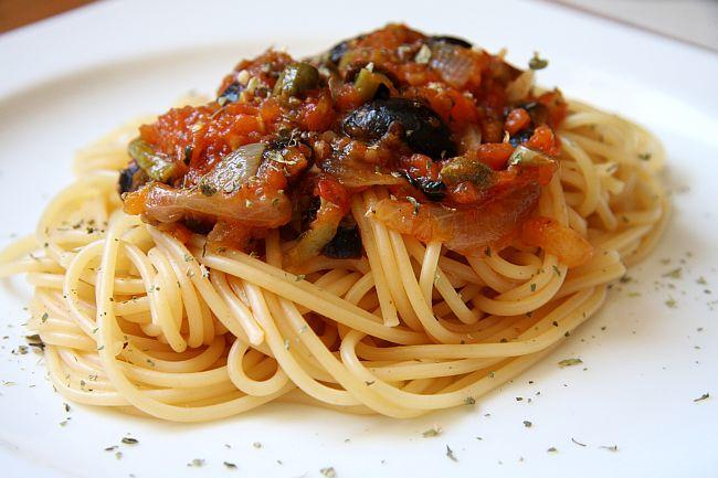 Salsa Puttanesca Italian Recipe