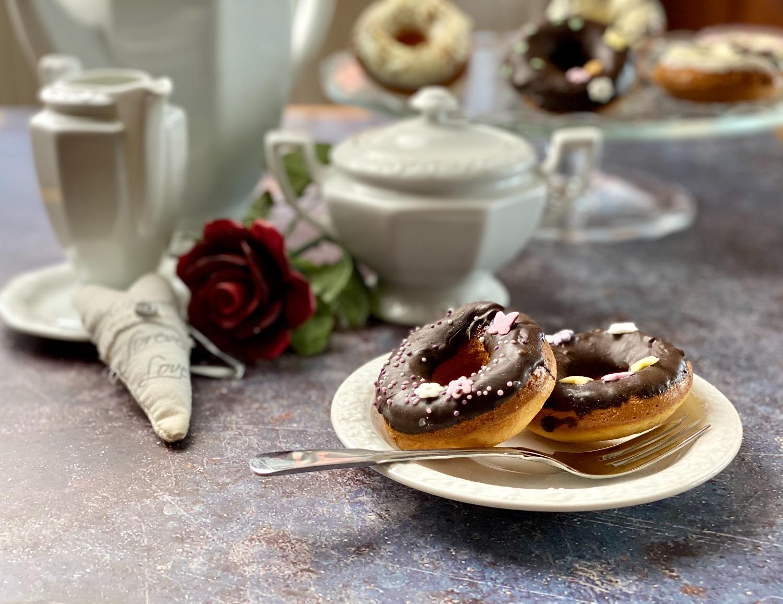 Donut aus dem Backofen