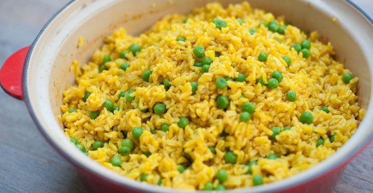 riz basmati à l'Indienne