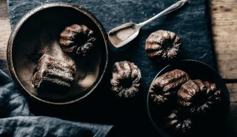 Cannelés Chocolat Épices Baies roses