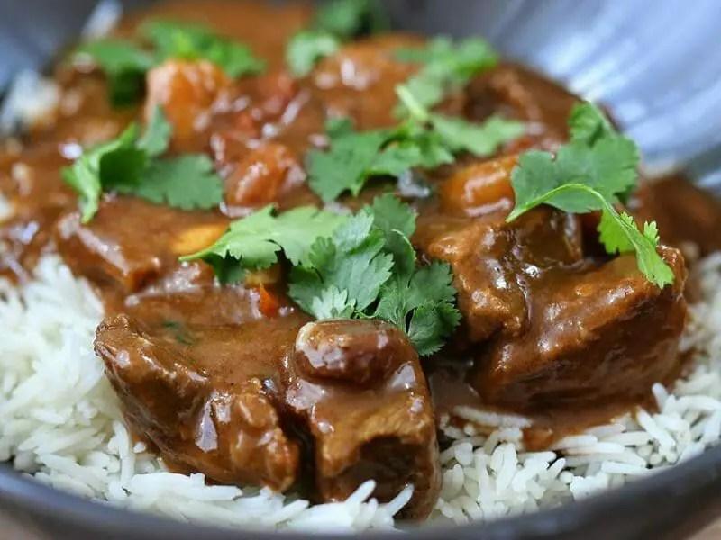 curry de boeuf au thermomix