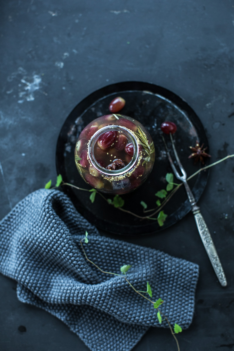 Grape Pickle With Rosemary And Star Anise - Cook Republic
