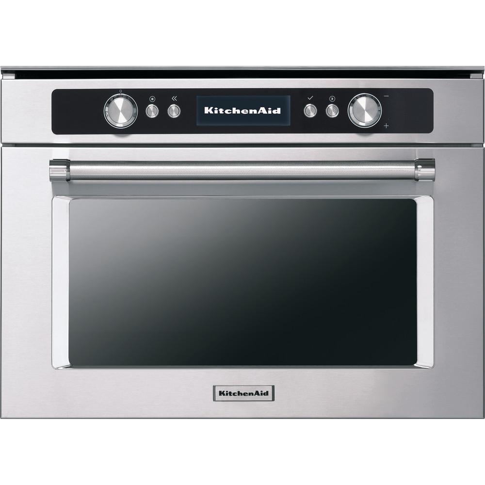 kitchenaid kmqcx 45600 45cm compact combination steam microwave oven