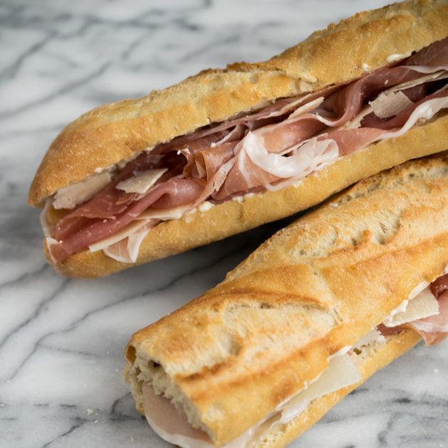 Paris Meets Parma Sandwich